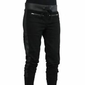 True Religion Black Yoga, Jog, Sweat Pants S/P